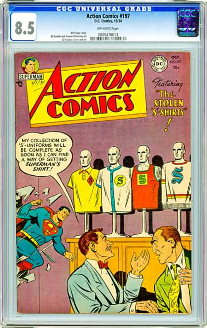 CGC Graded Comics - Action Comics #197 (CGC)