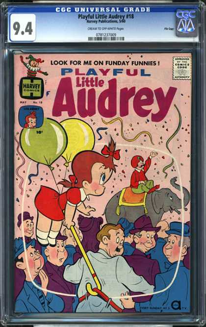 CGC Graded Comics - Playful Little Audrey #18 (CGC)