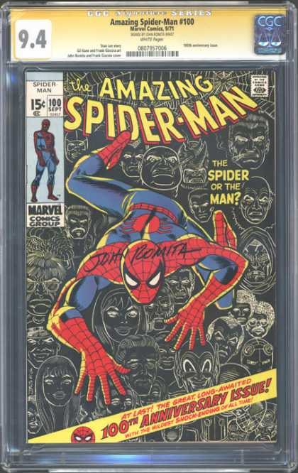 CGC Graded Comics - Amazing Spider-Man #100 (CGC)