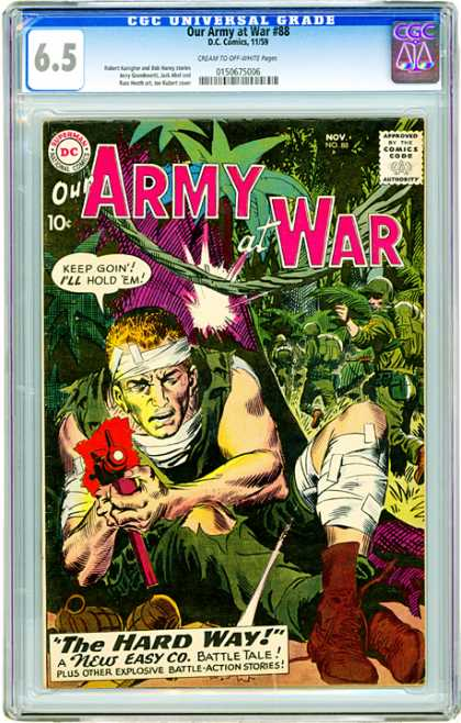 CGC Graded Comics - Our Army at War #88 (CGC)