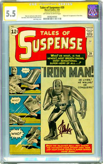 CGC Graded Comics - Tales of Suspense #39 (CGC)