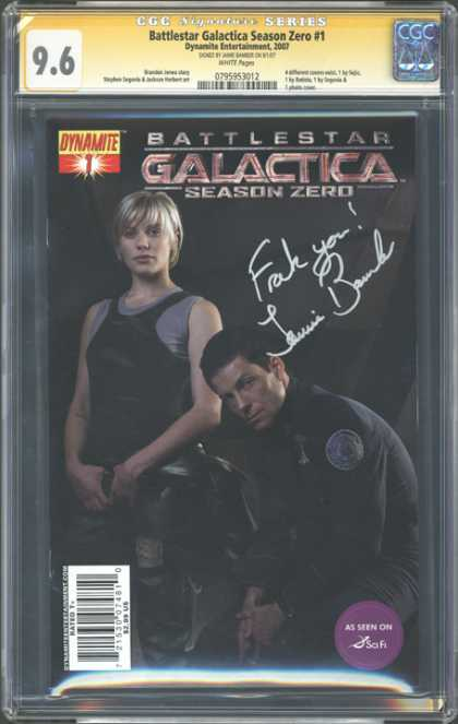 CGC Graded Comics - Battlestar Galactica Season Zero #1 (CGC)