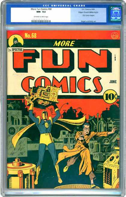 CGC Graded Comics - More Fun Comics #68 (CGC)