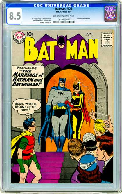 CGC Graded Comics - Batman #122 (CGC)