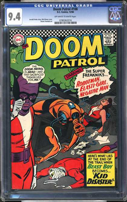 CGC Graded Comics - Doom Patrol #108 (CGC)