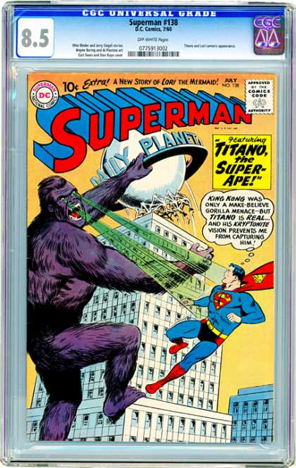 CGC Graded Comics - Superman #138 (CGC)