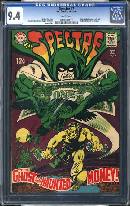 CGC Graded Comics - Spectre #7 (CGC)