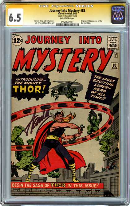 CGC Graded Comics - Journey Into Mystery #83 (CGC)