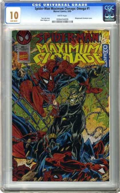 CGC Graded Comics - Spider-Man Maximum Clonage: Omega #1 (CGC)