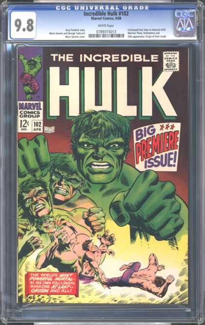 CGC Graded Comics - Incredible Hulk #102 (CGC)
