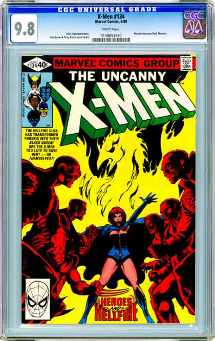 CGC Graded Comics - X-Men #134 (CGC)
