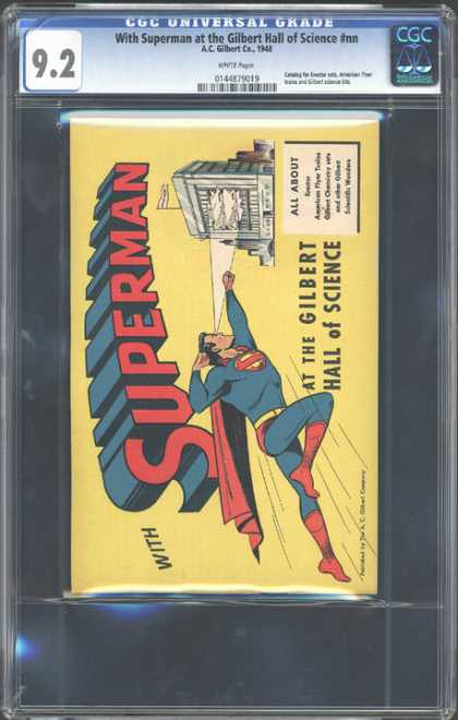 CGC Graded Comics - With Superman at the Gilbert Hall of Science #nn (CGC)