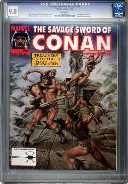 CGC Graded Comics - Savage Sword of Conan #199 (CGC)