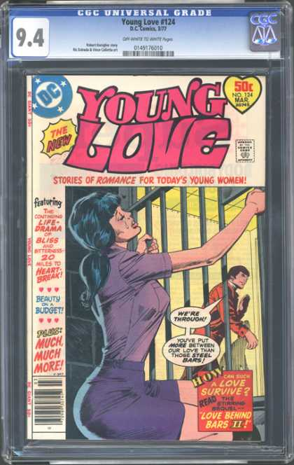 CGC Graded Comics - Young Love #124 (CGC) - Dc Comics - Young Love - 94 - Approved By The Comics Code Authority - Romance