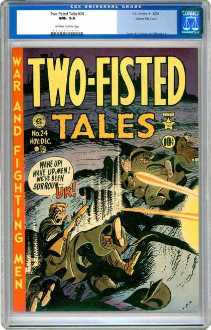 CGC Graded Comics - Two-Fisted Tales #24 (CGC)