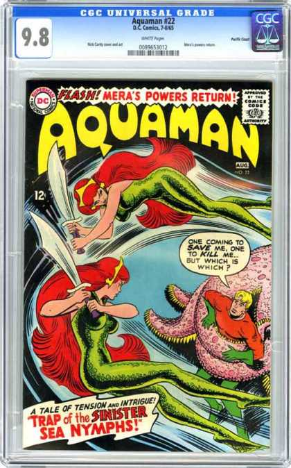 CGC Graded Comics - Aquaman #22 (CGC)