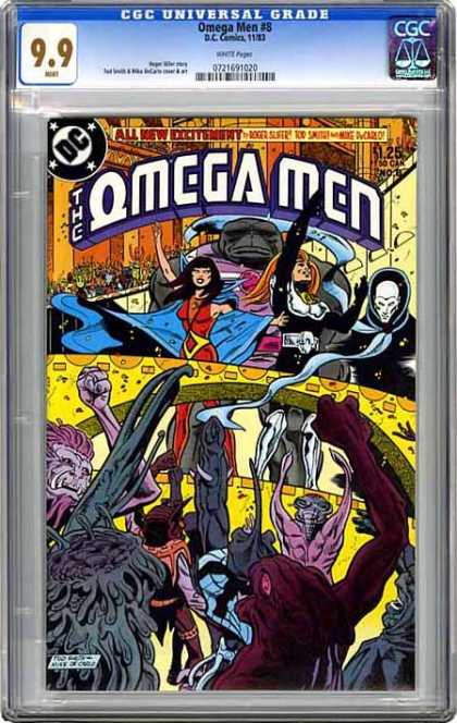CGC Graded Comics - Omega Men #8 (CGC)