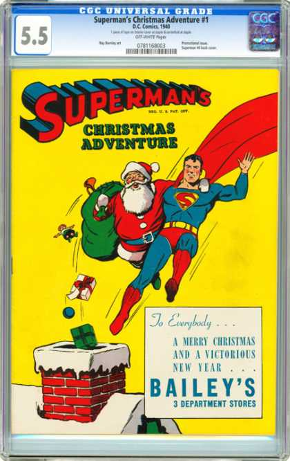CGC Graded Comics - Superman's Christmas Adventure #1 (CGC)
