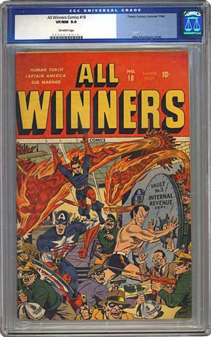 CGC Graded Comics - All Winners Comics #18 (CGC)