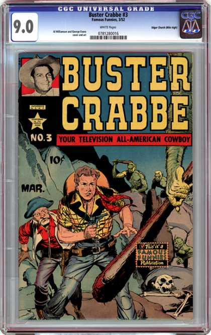 CGC Graded Comics - Buster Crabbe #3 (CGC)
