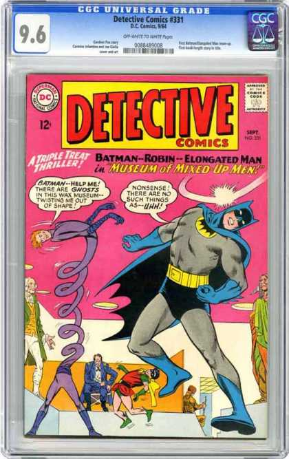 CGC Graded Comics - Detective Comics #331 (CGC) - Detective - Comics - Batman - Robin - Elongated Man