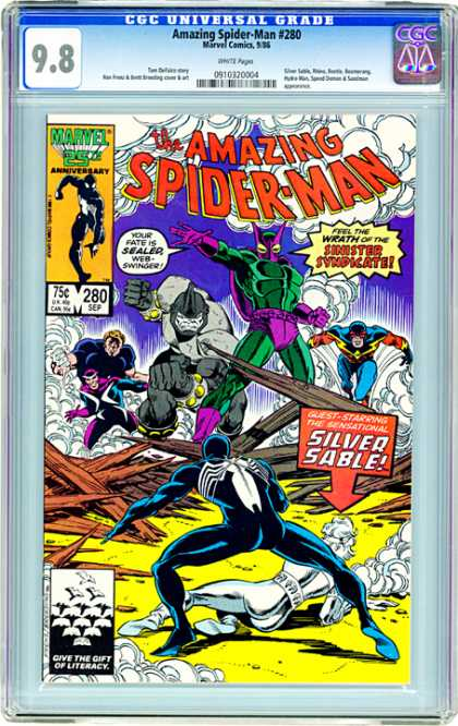 CGC Graded Comics - Amazing Spider-Man #280 (CGC)