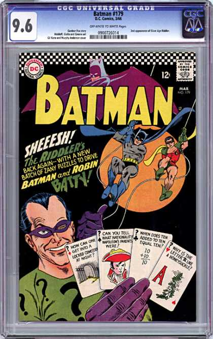 CGC Graded Comics - Batman #179 (CGC)