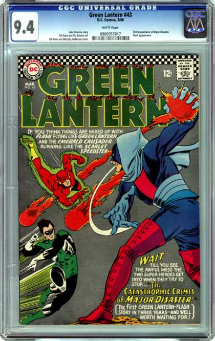 CGC Graded Comics - Green Lantern #43 (CGC)