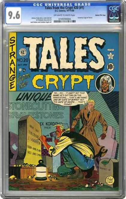 CGC Graded Comics - Tales from the Crypt #20 (#1) (CGC)