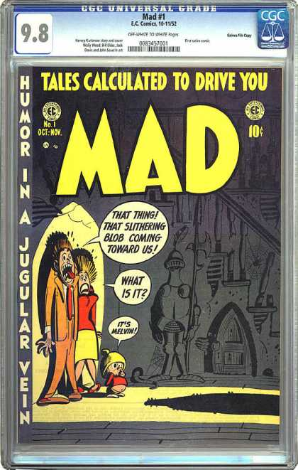 CGC Graded Comics - Mad #1 (CGC)