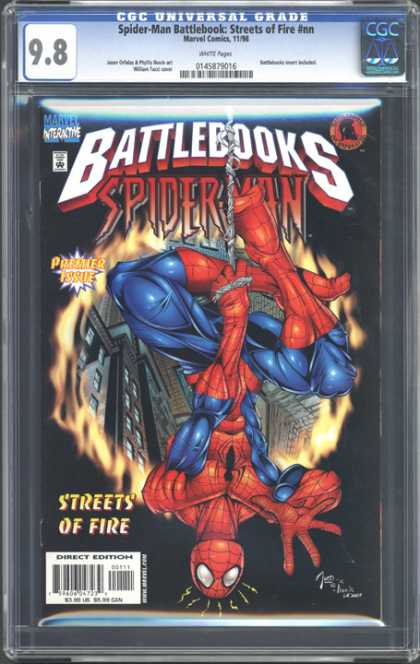 CGC Graded Comics - Spider-Man Battlebook: Streets of Fire #nn (CGC)