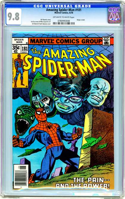 CGC Graded Comics - Amazing Spider-Man #181 (CGC)