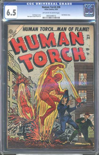 CGC Graded Comics - Human Torch #36 (CGC)