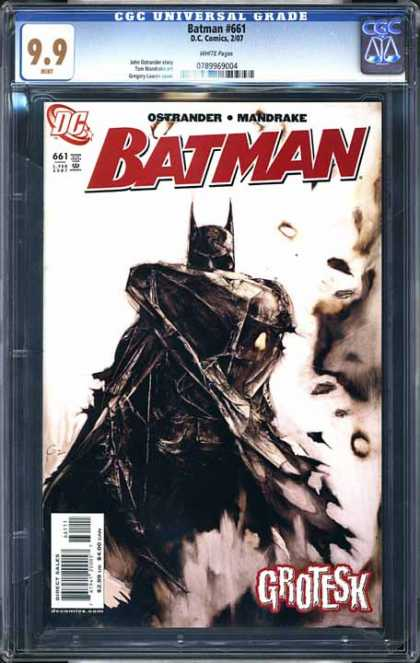 CGC Graded Comics - Batman #661 (CGC) - Batman - Ostrander - Mandrake - Dc - Costume