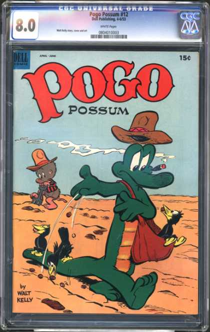 CGC Graded Comics - Pogo Possum #12 (CGC)