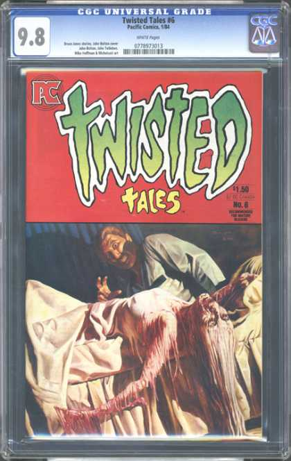 CGC Graded Comics - Twisted Tales #6 (CGC) - Twisted - Tales - Monster - Man - Bed