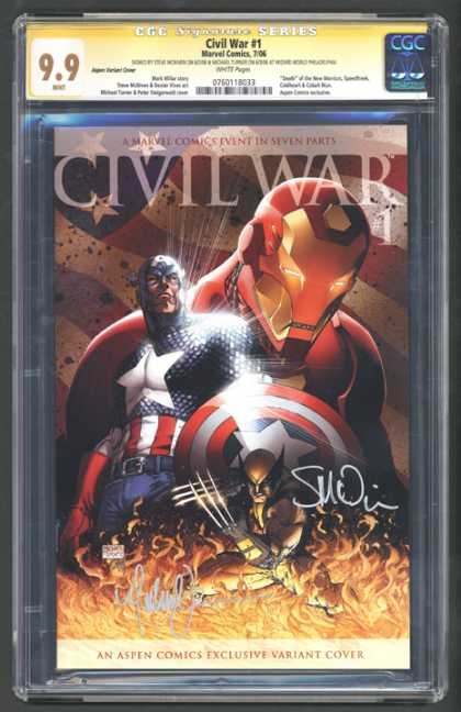 CGC Graded Comics - Civil War #1 (CGC)