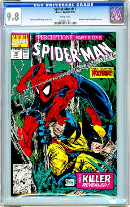 CGC Graded Comics - Spider-Man #12 (CGC)