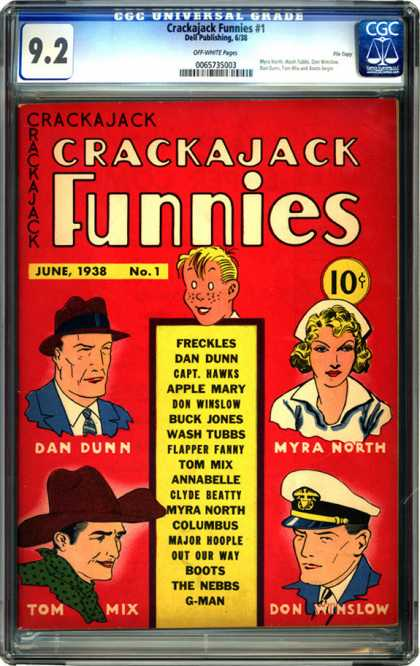 CGC Graded Comics - Crackajack Funnies #1 (CGC)