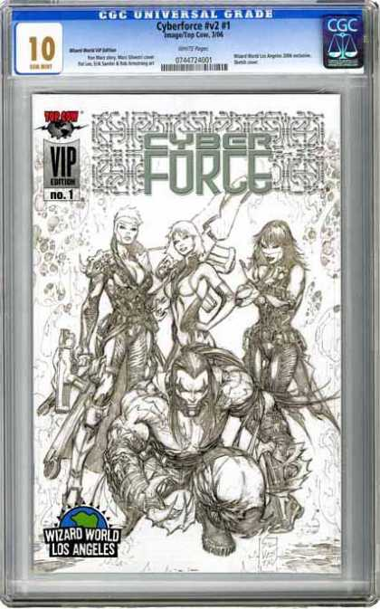 CGC Graded Comics - Cyberforce #v#2 #1 (CGC)