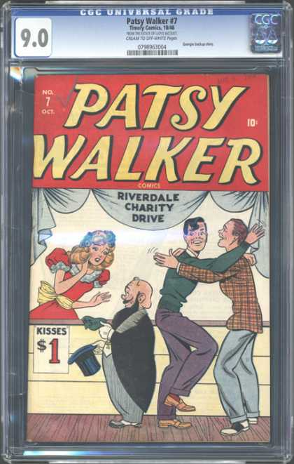CGC Graded Comics - Patsy Walker #7 (CGC)
