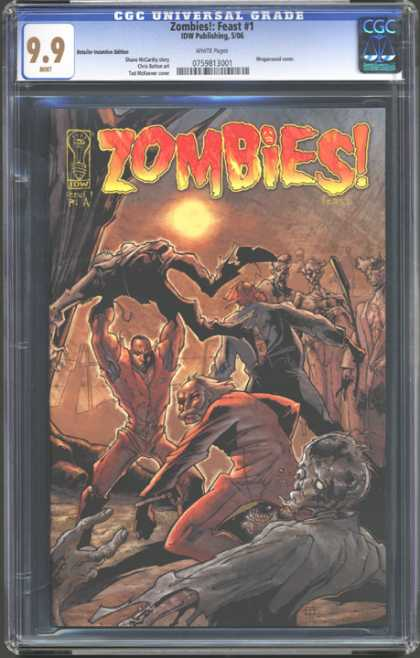 CGC Graded Comics - Zombies!: Feast #1 (CGC)
