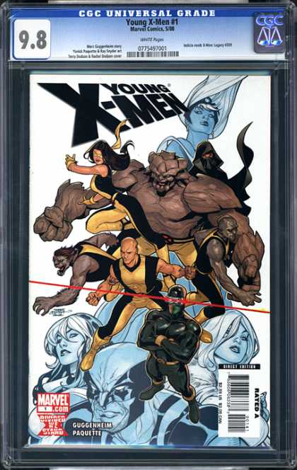 CGC Graded Comics - Young X-Men #1 (CGC)
