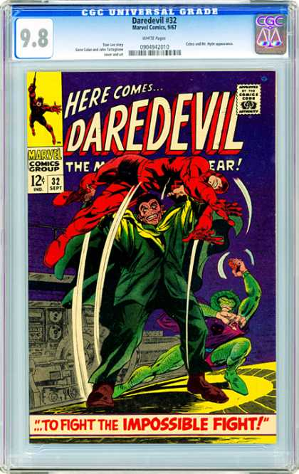 CGC Graded Comics - Daredevil #32 (CGC)