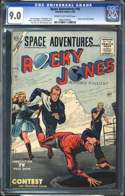 CGC Graded Comics - Space Adventures #16 (CGC)