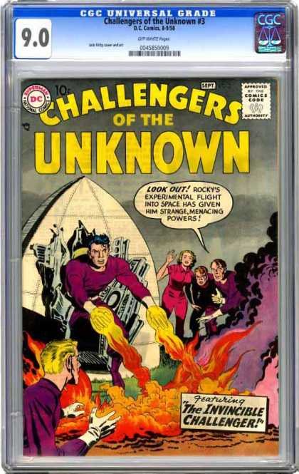 CGC Graded Comics - Challengers of the Unknown #3 (CGC)