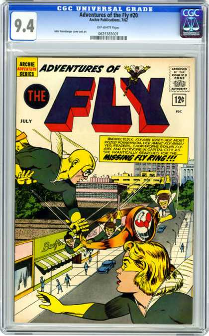 CGC Graded Comics - Adventures of the Fly #20 (CGC)