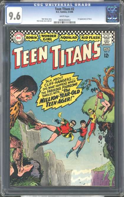 CGC Graded Comics - Teen Titans #2 (CGC)