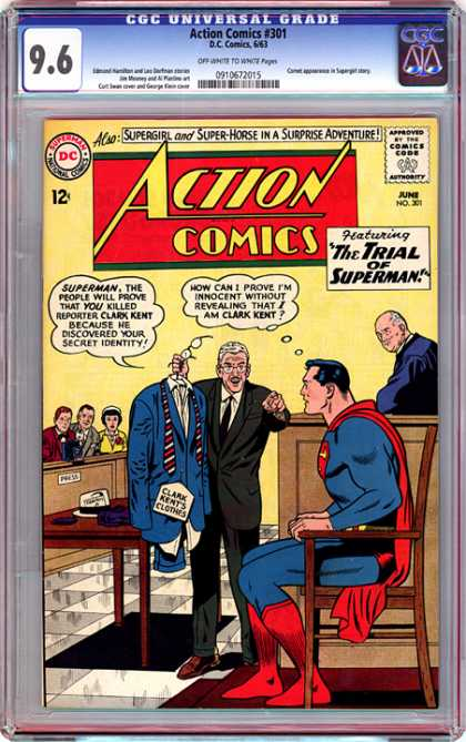 CGC Graded Comics - Action Comics #301 (CGC)