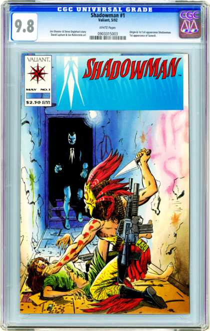 CGC Graded Comics - Shadowman #1 (CGC)